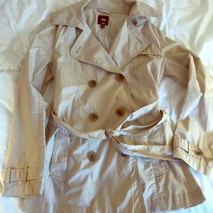 Short trench coat from The Gap